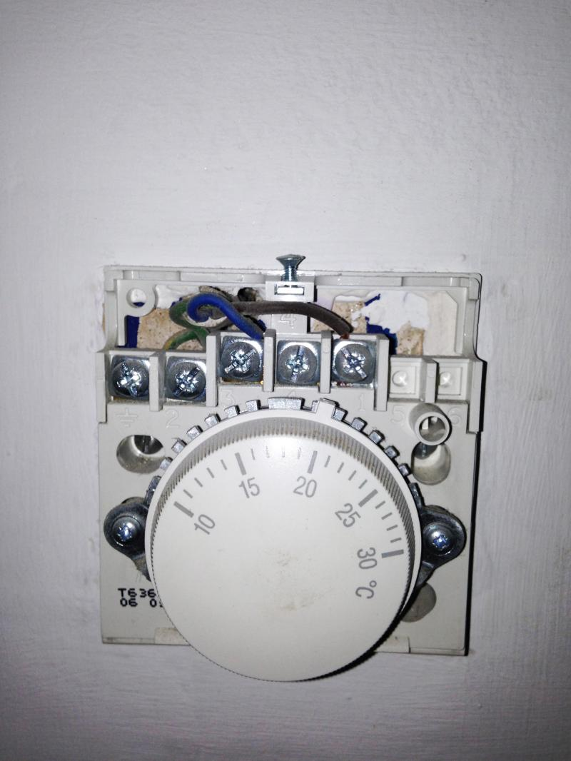 Replacing old dial thermostat T630 with new digital DIYnot Forums
