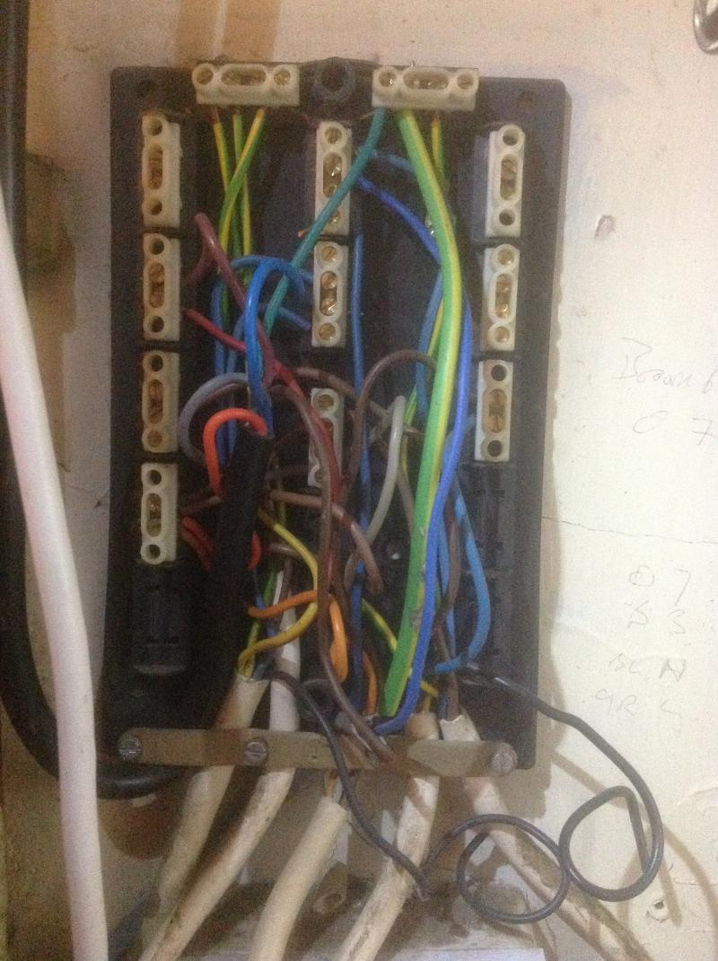 Initial Install Of A Honeywell Ht6360b Room Thermostat Diynot Forums Wiring T6360 Bison108
