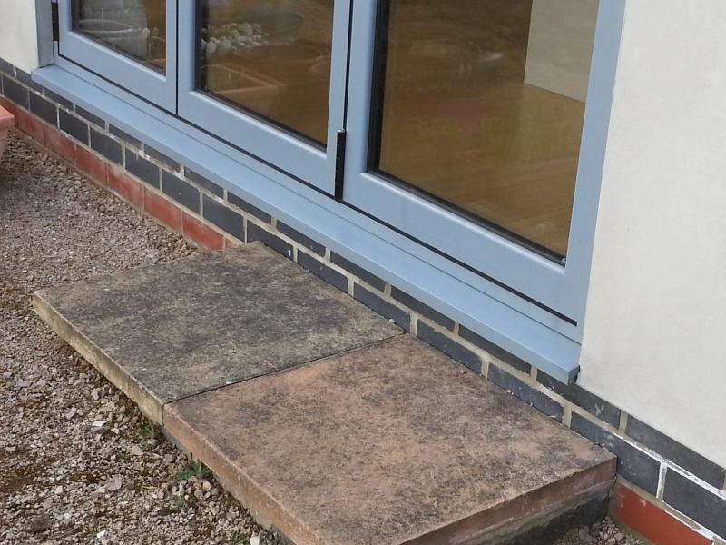 Patio above damp proof course diynot forums for What do i need to do to build a house