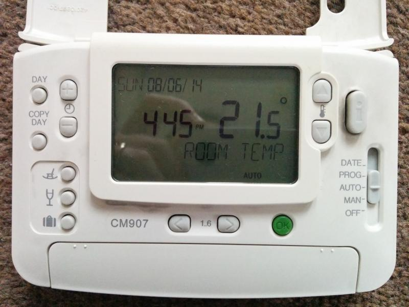 Replacing A Old Honeywell Room Thermostat With A Cm907