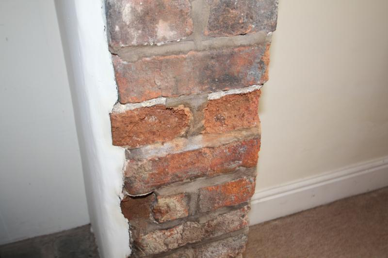 Crumbling Exposed Brick Chimney Diynot Forums