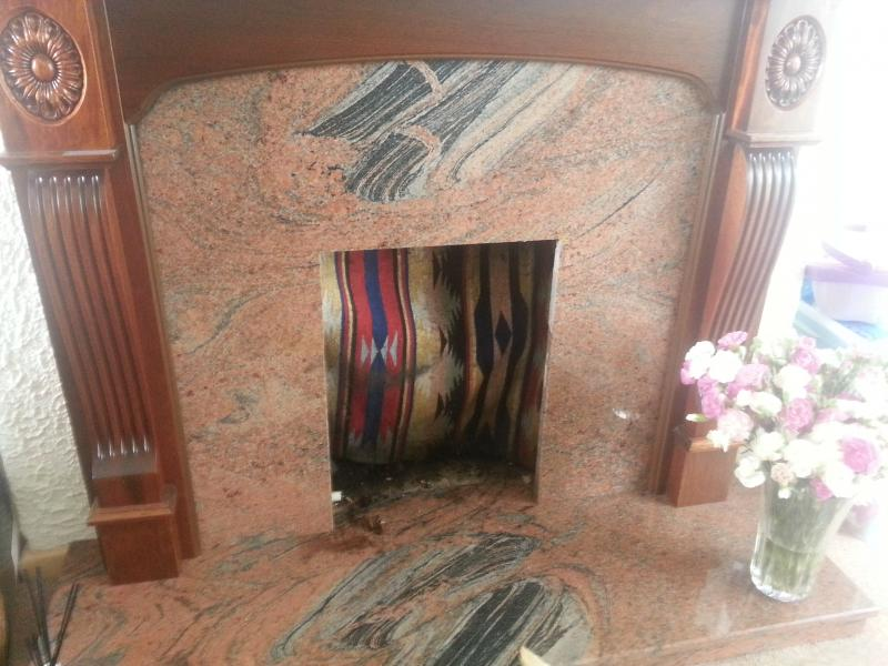 Painting A Granite Fireplace Diynot Forums