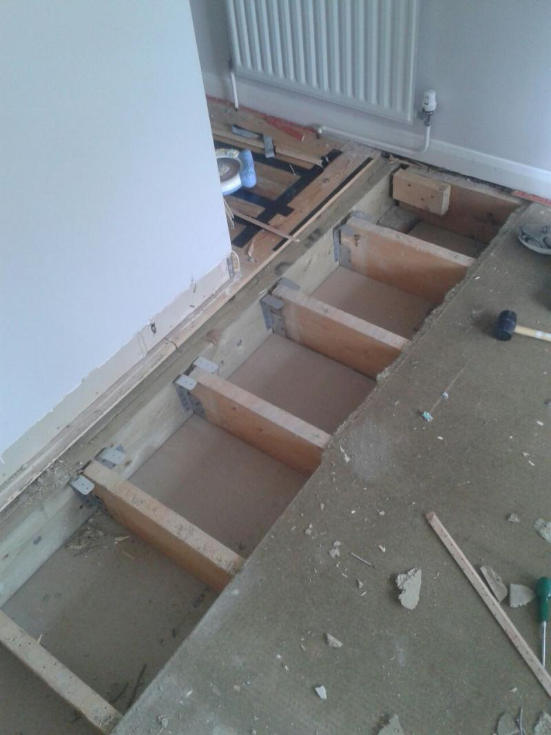 Should Worried About These Joist Hangers Diynot Forums