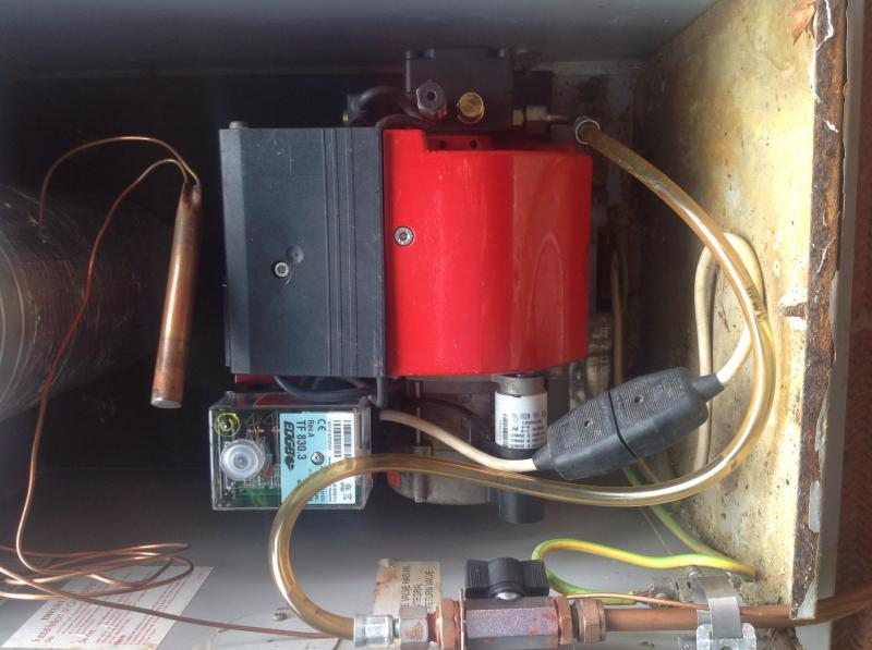 Wallstar Boiler Keeps Locking Out Amp Getting Air In The P