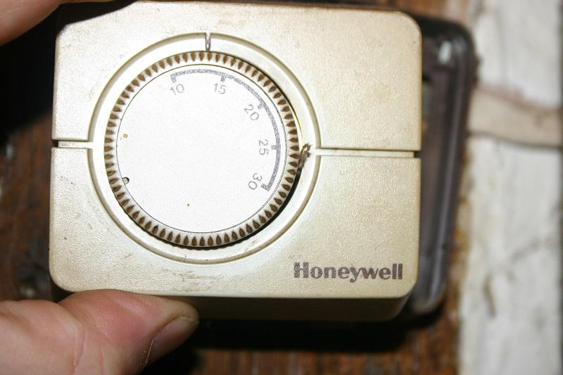 Replace Old Honeywell Thermostat With Cm907
