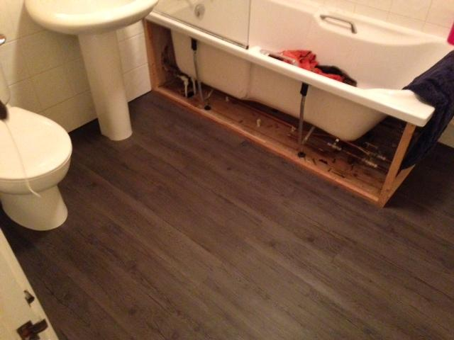 Laying New Luxury Viny Flooring Planks Diynot Forums