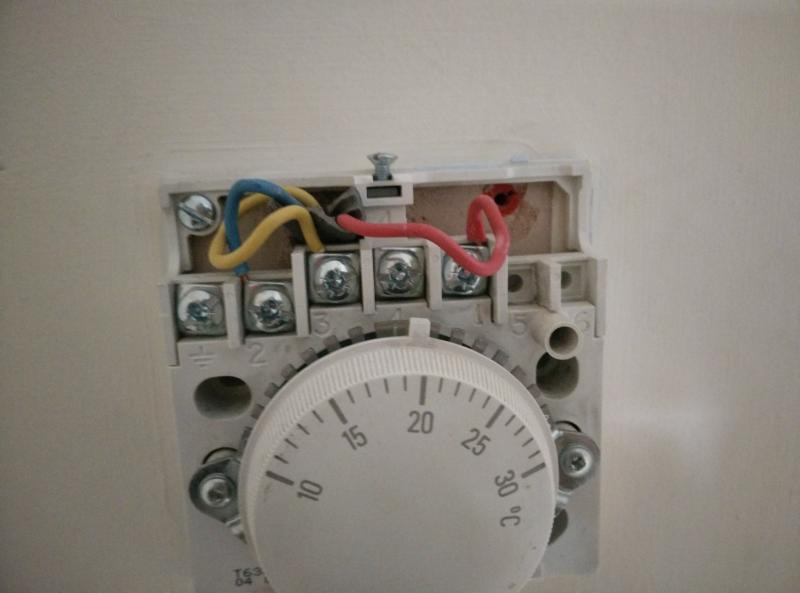 Replacing Honeywell T6360b Thermostat
