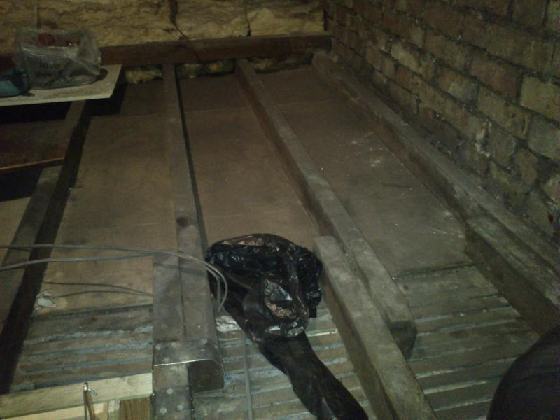 Boarding Out A Loft >> Boarding out loft for storage. | DIYnot Forums