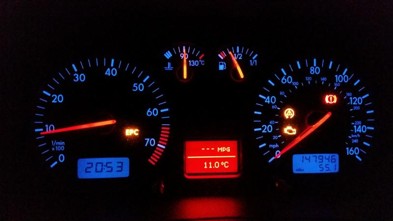Epc And 2 Warning Lights 03 Golf Mk4 1 6 16v Diynot Forums