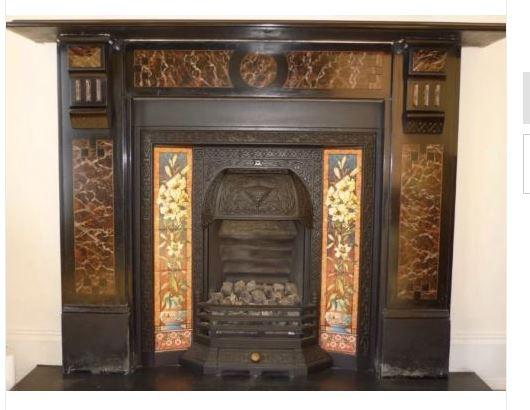 Painting Marble Fireplace Surround