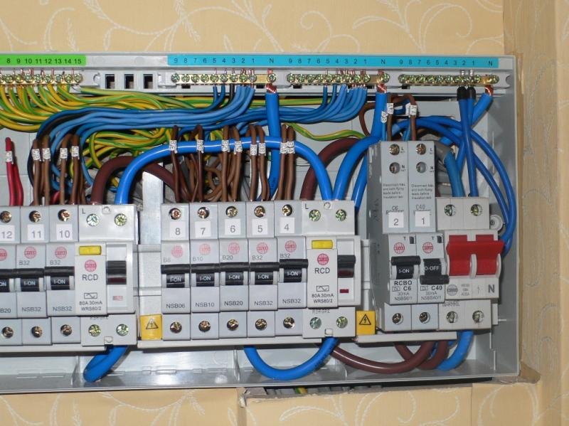 Wiring A Consumer Unit Uk