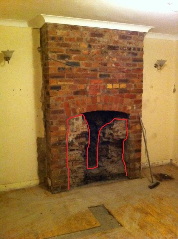 Restoring An Exposed Brick Fireplace
