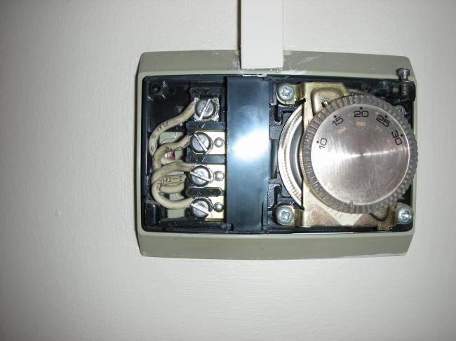 Replace Honeywell T6060b Room Stat With New Type T6360