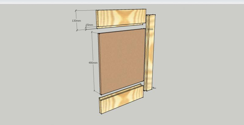 Cabinet Door With Mdf Panel Diynot Forums