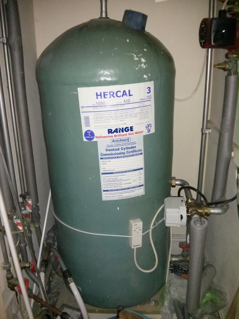 Lukewarm water from cylinder | DIYnot Forums