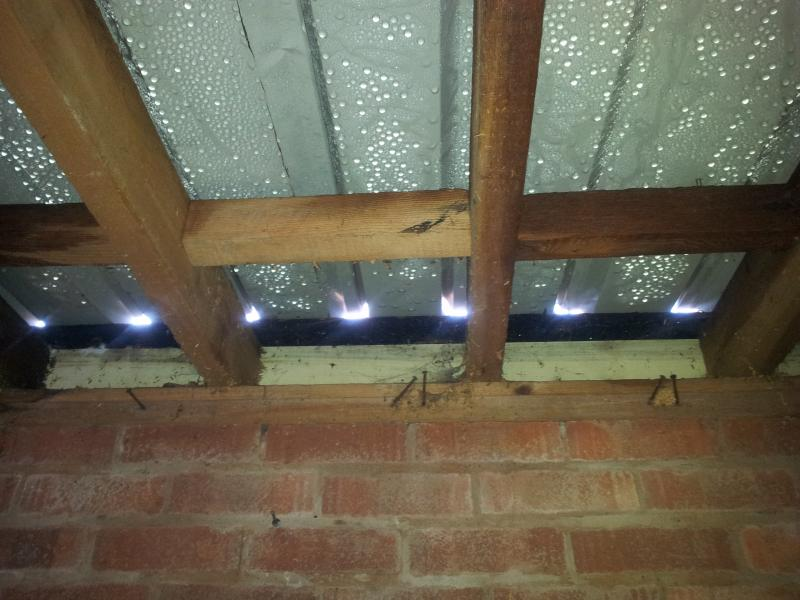 Corrugated Steel Garage Roof Condensation Diynot Forums