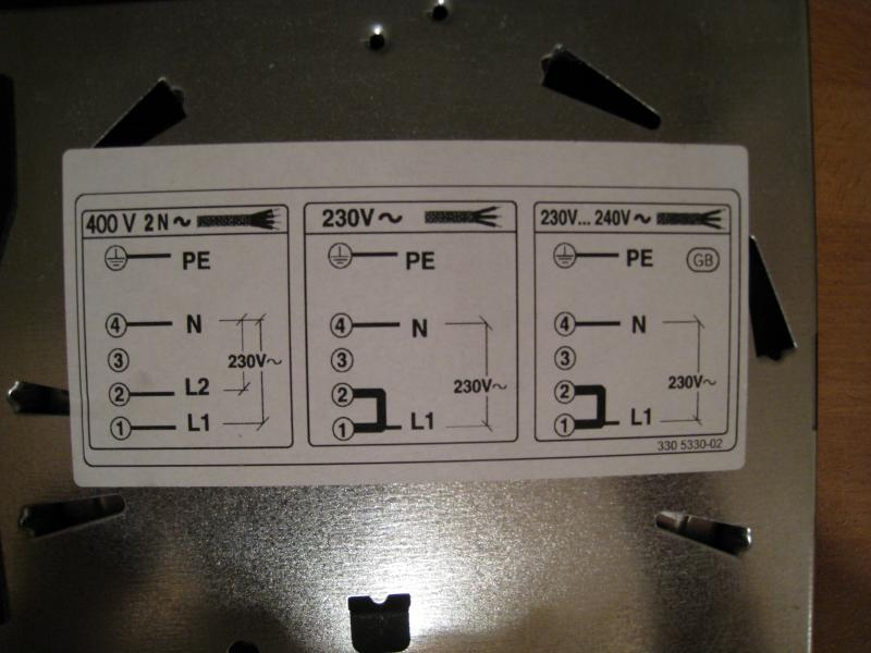 help with wiring in electric hob tonight diynot forums rh diynot com induction hob wiring requirements electrolux induction hob wiring