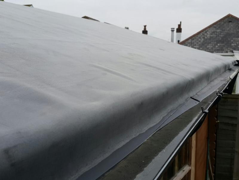 Rubber Membrane On Shed Roof Roofers Diynot Forums