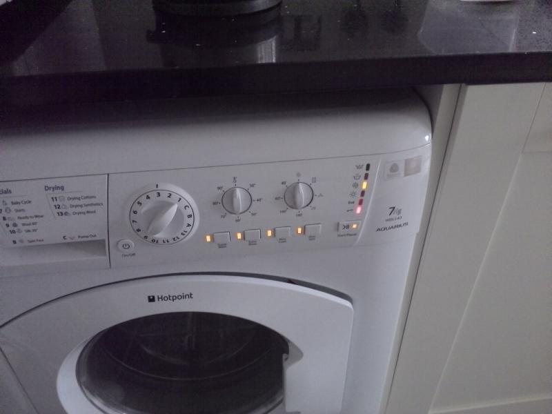 Hotpoint Wdl540 Flashing Lights Which Fault Code