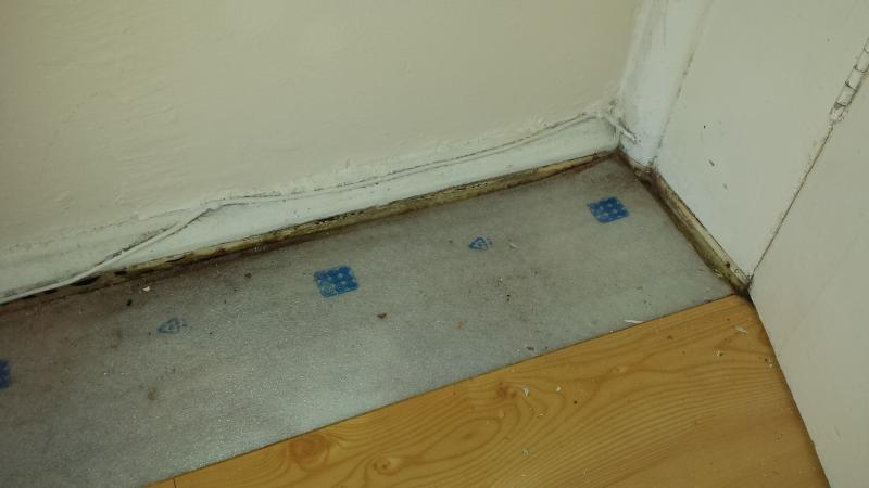 Laminate flooring and damp issues | DIYnot Forums