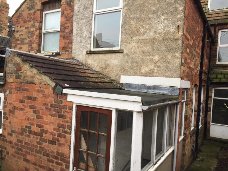 Conversion Of Extension With Single Skin Brick Wall