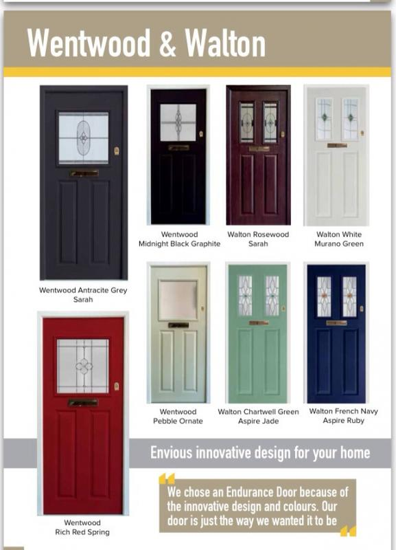 Composite door in 1930s style diynot forums they havent updated the online brochure you would need astragal bars to the glass to match your existing door eventshaper