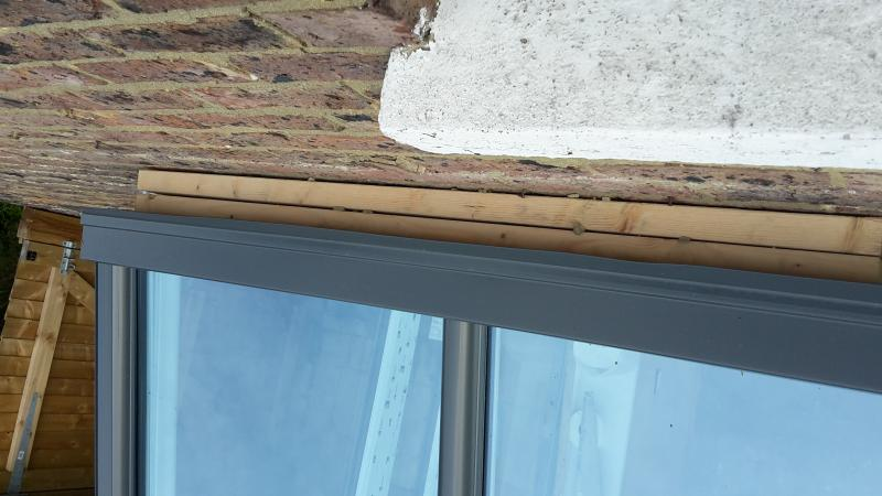 Conservatory Roof And Lead Flashing Is This Right