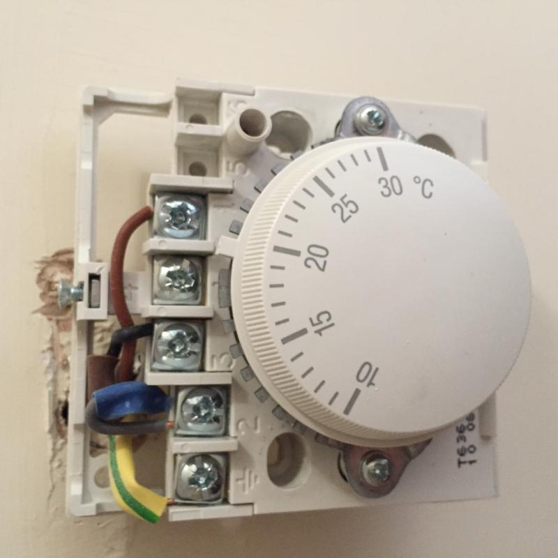 Swap Honeywell Thermostat For Digital One