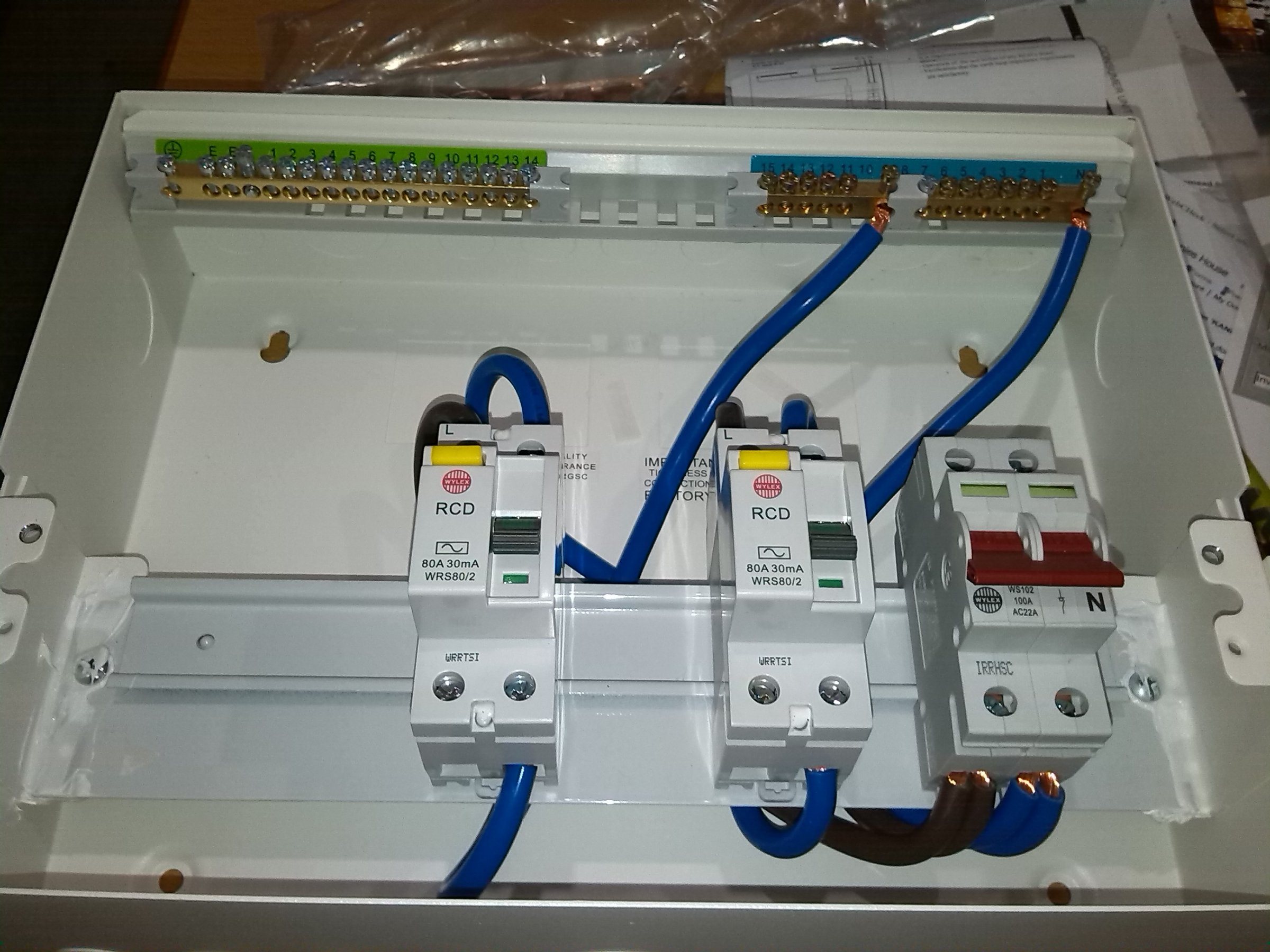 Delighted wiring diagram for garage consumer unit ideas wylex consumer unit rcd wiring diynot forums with 28 more ideas asfbconference2016 Image collections