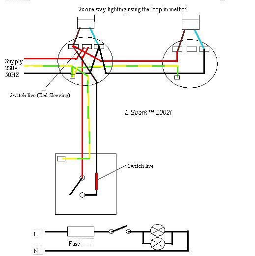 Diagram Wiring Diagram Two Lights Off One Switch Full Version Hd Quality One Switch Diagramsfava Noidimontegiorgio It